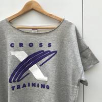 NIKE/ナイキ クロストレーニングロゴ 半袖スウェット 90年代 (DEADSTOCK)
