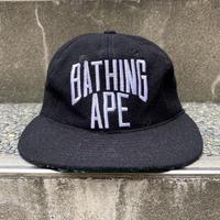 A BATHIG APE/アベイシングエイプ ウールキャップ 00年代 Made In USA (USED)