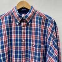 TOMMY HILFIGER/トミーヒルフィガー チェックシャツ 90年代 (USED)