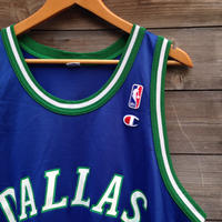 NBA DALLAS KIDD/エヌビーエー  ダラスマーベリックス ジェイソンキッド バスケタンク 90年代 (USED)