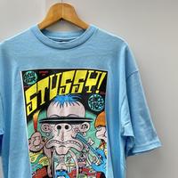 STUSSY/ステューシー PETER BAGGEコラボTシャツ 09年 (DEADSTOCK)