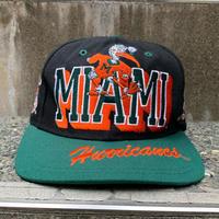 MIAMI HURRICANES/マイアミハリケーンズキャップ 90年代 (USED)