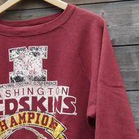CHAMPION NFL REDSKINS/チャンピオン社製 レッドスキンズ スウェット 87年トリコタグ Made In USA (USED)