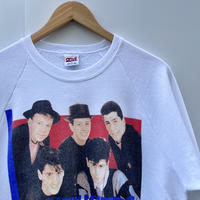 NEW KIDS ON THE BLOCK/ニューキッズオンザブロック プリントスウェット c1989  Made In USA (USED)