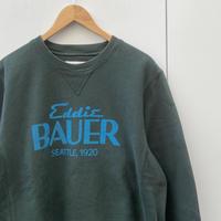 EDDIE BAUER/エディーバウアー ロゴスウェット 2000年代 (USED)