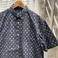 STUSSY/ステューシー モノグラムボタンダウンシャツ 90年代 Made In USA (DEADSTOCK)