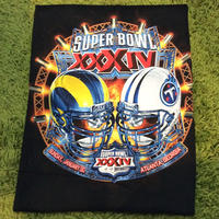 NFL SUPER BOWL/スーパーボール Tシャツ 2000年 RAMS vs TITANS (DEADSTOCK)