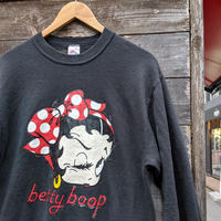 betty boop/ベティ スウェット 90年代 Made In USA (USED)
