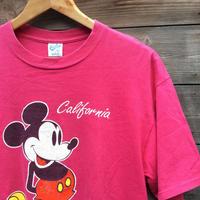 Velbasheen MICKEY/ベルバシーン ミッキー プリントTシャツ 90年代 Made In USA (USED)