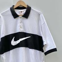 NIKE/ナイキ ビッグロゴ ポロシャツ 90年代 (USED)