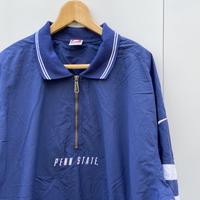 NIKE PSU/ナイキ PENN STATE ポロカラーハーフジップジャケット 90年代 (USED)