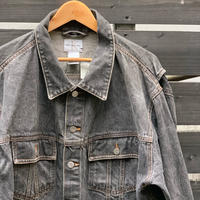 Calvin Klein Jeans/カルバンクラインジーンズ ウォッシュド ブラックGジャン 90年代 Made In USA (USED)