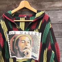 BOB MARLEY/ボブマーレー メキシカンパーカ ラスタカラー 2000年前後 (USED)
