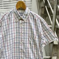 BURBERRYS/バーバリー ボタンダウンチェックシャツ 90年代 (USED)