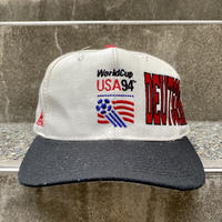 World Cup USA94 DEUTSCHLAND/ワールドカップ アメリカ94 ドイツチーム キャップ 94年 (DEADSTOCK)