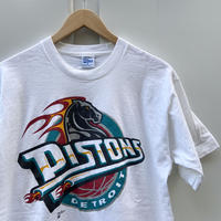 SALEM NBA DETROIT PISTONS/セーラム デトロイトピストンズ Tシャツ 90年代 Made In USA (USED)