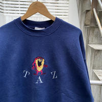 LOONEY TUNES TAZ/ルーニーチューンズ タズ スウェット 90年代 Made In USA (USED)