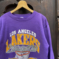 NBA LAKERS/レイカーズ スウェット 91年 Made In USA(USED)