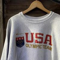 Champion USA OLYMPIC TEAM/チャンピオン アメリカオリンピックチーム リバースウィーブ スウェット 96年 Made In USA (USED)