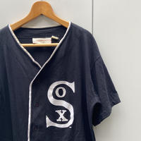 MLB WHITE SOX/シカゴホワイトソックス 天竺ベースボールシャツ 90年代 Made In USA (USED)