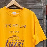 NBA LAKERS/ロサンゼルス レイカーズ  Tシャツ 2011年 (USED)