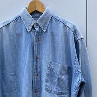 LL BEAN/エルエルビーン デニムボタンダウンシャツ Made In CANADA (DEADSTOCK)