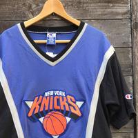 CHAMPION NBA KNICKS/チャンピオン ニューヨークニックス シューティングシャツ 90年代 (USED)