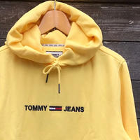 TOMMY JEANS/トミージーンズ ロゴフードスウェット (NEW)