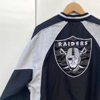 NFL RAIDERS/レイダース プルオーバージャケット 00年代 (USED)