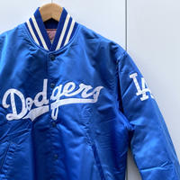 MLB DODGERS/ロサンゼルスドジャース ナイロンスタジャン 90年前後 Made In USA (USED)