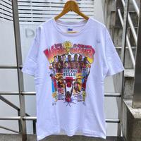 SALEM CHICAGO BULLS/セーラムブルズ 3ピートTシャツ 93年製 Made In USA (USED)