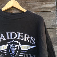 NFL Los Angeles RAIDERS/ロサンゼルスレイダース スウェット 90年代 Made In USA (USED)