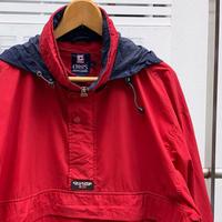 ChapsRalph Lauren/チャップスラルフローレン フード付きプルオーバーナイロンジャケット90年代 ( USED)