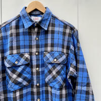 PRIVATE PROPERTY/プライベートプロパティ チェックヘビーネルシャツ 90年代 Made In USA (USED)