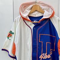 STARTER GATORS/スターター フロリダゲーターズ ベースボールシャツ フード付き 90年代 (USED)