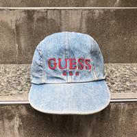 GUESS/ゲス デニムロゴキャップ 90年代 (USED)