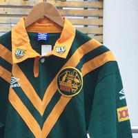 UMBRO/アンブロ ラガーシャツ 2000年前後 Made In AUSTRALIA(USED)