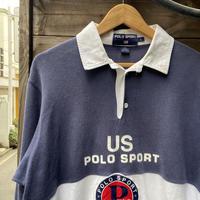 POLOSPORT/ポロスポーツ ラガーシャツ 96年 (USED)