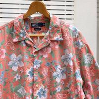 PoloRalphRauren/ポロラルフローレン コットン柄シャツ 90年代 (USED)