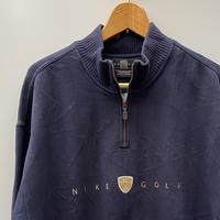 NIKE GOLF/ナイキゴルフ ハーフジップスウェット 90年代 (USED)