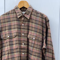 EDDIE BAUER/エディーバウアー チェックシャツ 90年代 (DEADSTOCK)