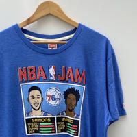 HOMAGE NBA JAM/オマージュ NBAジャム Tシャツ Made In USA (NEW)