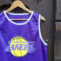 STARTER LOS ANGELES LAKERS/スターター NBAレイカーズ メッシュタンクトップ 80年代 (USED)
