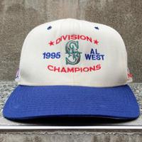 MLB x NEWERA AL WEST 1995 CHAMPIONS/ニューエラ メジャーリーグ 1995オールウエスト チャンピオンズ キャップ 95年 (USED)