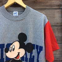 MICKEY/ミッキー プリントTシャツ VelvaSheen社製 Made In USA (USED)