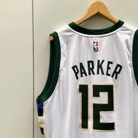 adidas NBA BUCKS/アディダス ミルウォーキーバックス バスケットタンクトップ  12 PARKAR 2010年代 (USED)