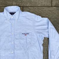POLOSPORT/ポロスポーツ シャンブレーボタンダウンシャツ 90年代 (USED)