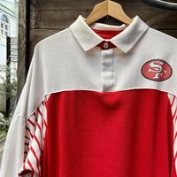 NFL SAN FRANCISCO 49ERS/サンフランシスコ フォーティーナイナーズ ポロスウェット 90年代 (USED)