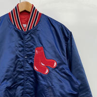 STARTER MLB REDSOX/スターター ボストンレッドソックス サテンスタジャン 90年代 Made In USA (USED)