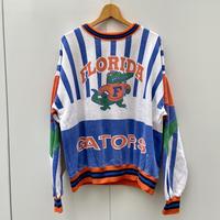 FLORIDA GATORS/フロリダゲーターズ 総柄スウェット 90年代 (USED)